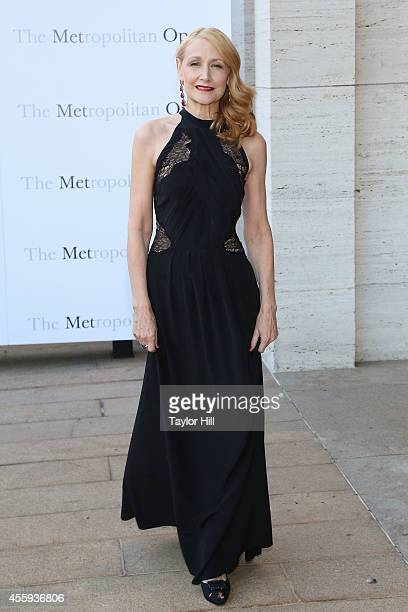 Actress Patricia Clarkson attends the season opening of The Marriage of Figaro at The Metropolitan Opera House on September 22 2014 in New York City