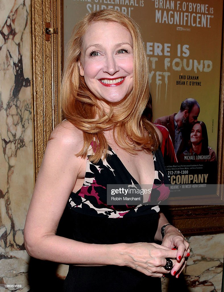 Actress Patricia Clarkson attends the 'The Mystery Of Edwin Drood' Broadway Opening Night at Roundabout Theatre Company's Studio 54 on November 13, 2012 in New York City.