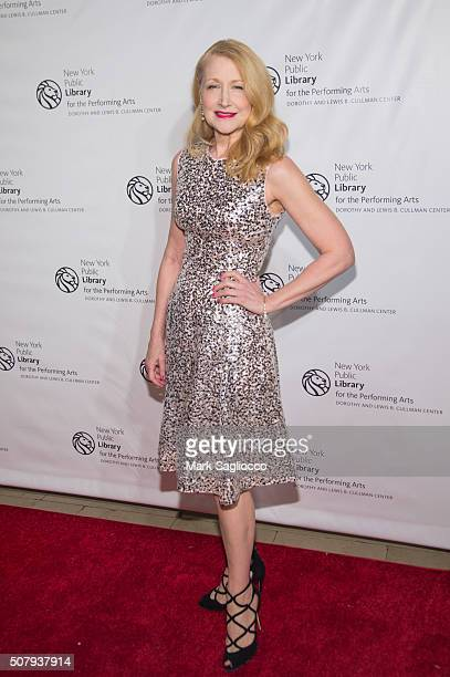 Actress Patricia Clarkson attends the The New York Public Library For The Performing Arts' 50th Anniversary Gala at The New York Public Library...