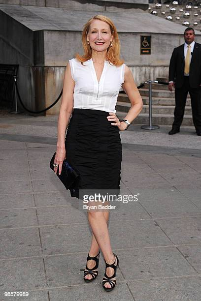 Actress Patricia Clarkson attends the Vanity Fair party before the 2010 Tribeca Film Festival at the New York State Supreme Court on April 20 2010 in...