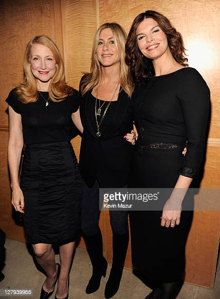 Actress Patricia Clarkson Executive Producer and Director Jennifer Aniston and Jeanne Tripplehorn attend the red carpet screening in the nation's...
