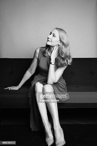 Actress Patricia Clarkson is photographed at the 41st Deauville American Film Festival on September 12 2015 in Deauville France