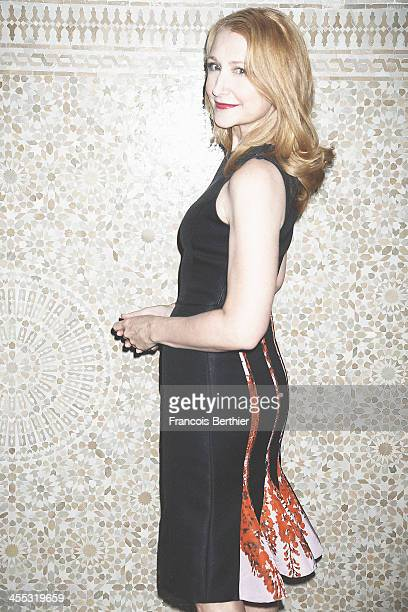 Actress Patricia Clarkson is photographed for Self Assignment during the 13th Marrakech Film Festival on December 2 2013 in Marrakech Morocco