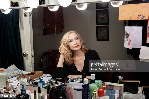 Actress Patricia Clarkson is photographed for Wall Street Journal on November 20 2014 in New York City