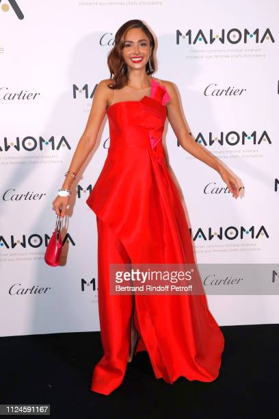 Actress Patricia Contreras attends the Launch of the First Worldwide Itinerant Competition For Women Orchestra Conductors MAWOMA Held at Le Grand...