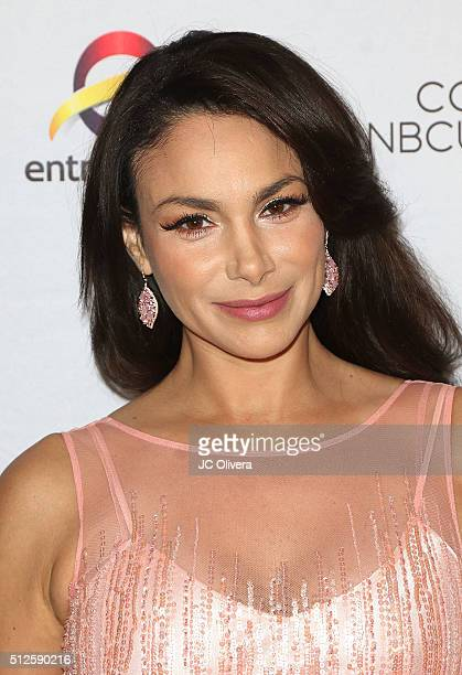 Actress Patricia De Leon attends the 19th Annual National Hispanic Media Coalition Impact Awards Gala at Regent Beverly Wilshire Hotel on February 26...