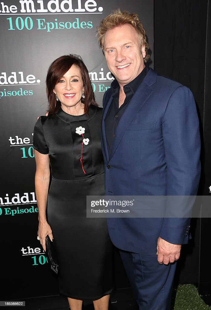 """ABC's """"The Middle"""" 100th Episode Celebration : News Photo"""