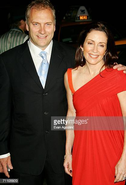 Actress Patricia Heaton and husband David Hunt attend the Fresh Air Fund's Salute To American Heroes annual spring gala at Tavern on the Green June...