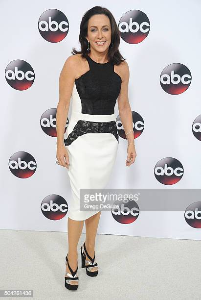 Actress Patricia Heaton arrives at the 2016 Winter TCA Tour - Disney/ABC at Langham Hotel on January 9, 2016 in Pasadena, California.