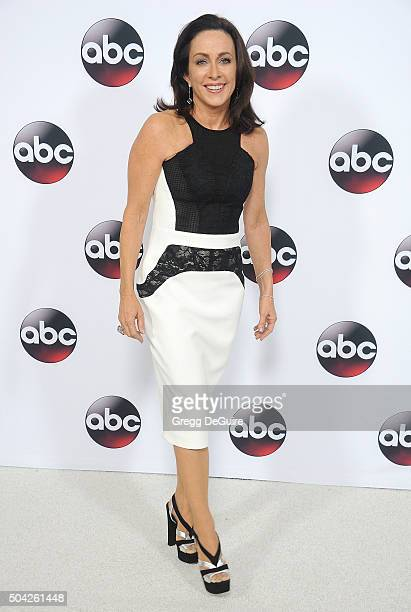 Actress Patricia Heaton arrives at the 2016 Winter TCA Tour Disney/ABC at Langham Hotel on January 9 2016 in Pasadena California