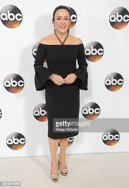 Actress Patricia Heaton arrives at the 2017 Winter TCA Tour Disney/ABC at the Langham Hotel on January 10 2017 in Pasadena California