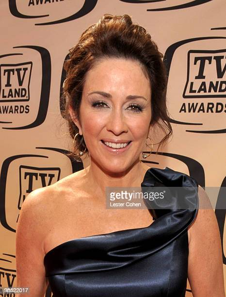 Actress Patricia Heaton arrives at the 8th Annual TV Land Awards at Sony Studios on April 17 2010 in Los Angeles California
