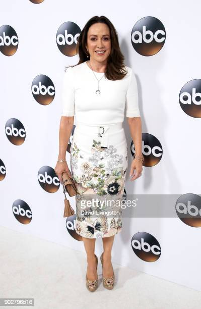 Actress Patricia Heaton attends Disney ABC Television Group's TCA Winter Press Tour 2018 at The Langham Huntington Pasadena on January 8 2018 in...