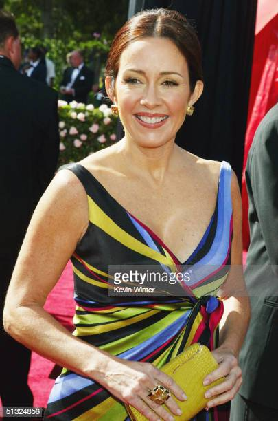 Actress Patricia Heaton attends the 56th Annual Primetime Emmy Awards at the Shrine Auditorium September 19 2004 in Los Angeles California