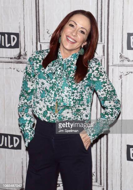 Actress Patricia Heaton attends the Build Series to discuss the charitable organization Giving Tuesday at Build Studio on November 26 2018 in New...