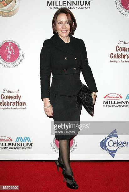 Actress Patricia Heaton attends the IMF 2nd annual comedy celebration at the Wilshire Ebell Theatre on November 15 2008 in Los Angeles California