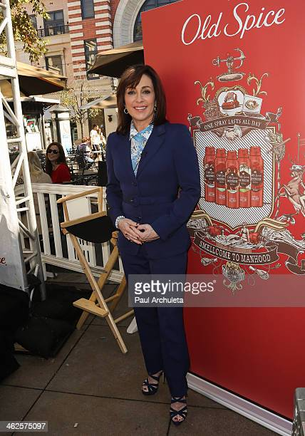Actress Patricia Heaton attends the Scent Responsibly campaign launch at The Grove on January 13 2014 in Los Angeles California