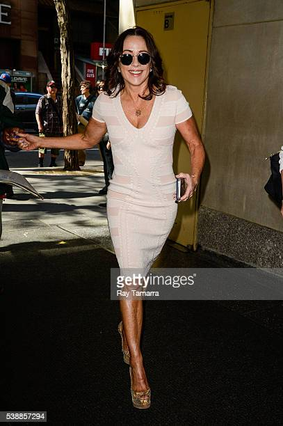 Actress Patricia Heaton enters the 'Today Show' taping at the NBC Rockefeller Center Studios on June 08 2016 in New York City