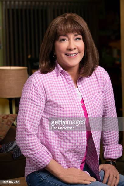 Actress Patricia Heaton from 'The Middle' is photographed for USA Today on March 22 2018 in Burbank California