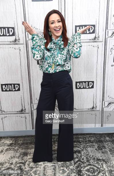 Actress Patricia Heaton visits Build Series to discuss the charitable foundation Giving Tuesday at Build Studio on November 26 2018 in New York City