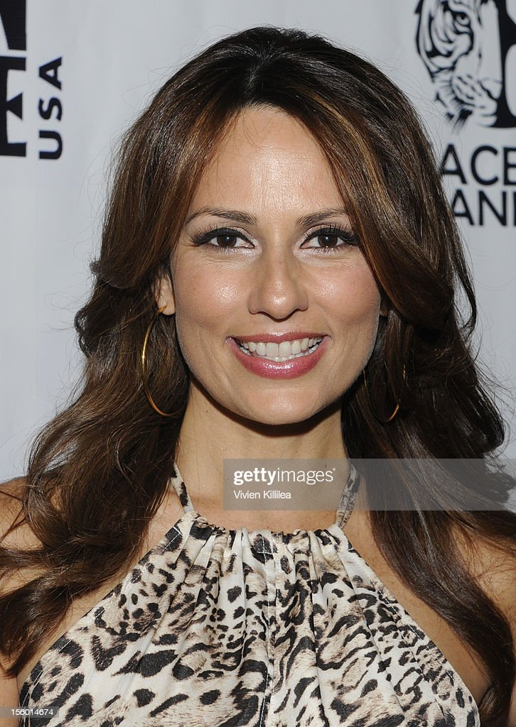 Actress Patricia Kara attends Stars For Stripes Benefit Hosted By Alison Eastwood Benefiting Peace 4 Animals And Born Free USA at Hemingway's on November 10, 2012 in Los Angeles, California.
