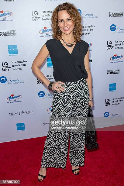Actress Patricia Kara attends the 10th Annual Los Angeles Greek Film Festival opening night gala at the Egyptian Theatre on June 01 2016 in Hollywood...
