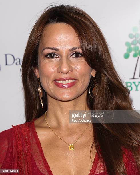 Actress Patricia Kara attends the celebrity StuffAThon benefit at Baby2Baby Headquarters on November 16 2013 in Los Angeles California