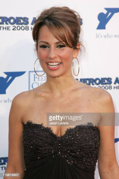 Actress Patricia Kara attends the The 2008 Hero Awards at the Universal Hilton on June 6 2008 in Universal City California