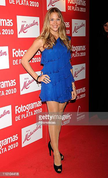 Actress Patricia Montero arrives to the 'Fotogramas Awards 2010' ceremony at Joy Eslava on March 14 2011 in Madrid Spain