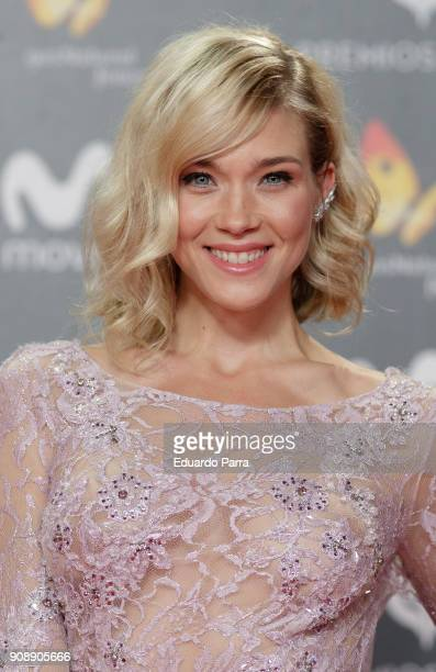 Actress Patricia Montero attends Feroz Awards 2018 at Magarinos Complex on January 22 2018 in Madrid Spain