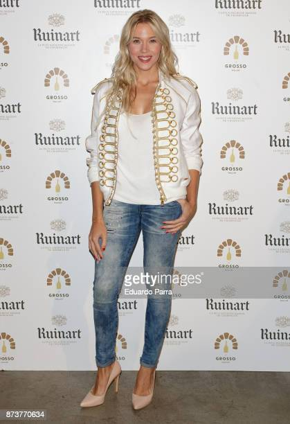 Actress Patricia Montero attends the 'Ruinart Champagne Pizza by Grosso Napoletano' photocall at Grosso Napoletano bar on November 13 2017 in Madrid...