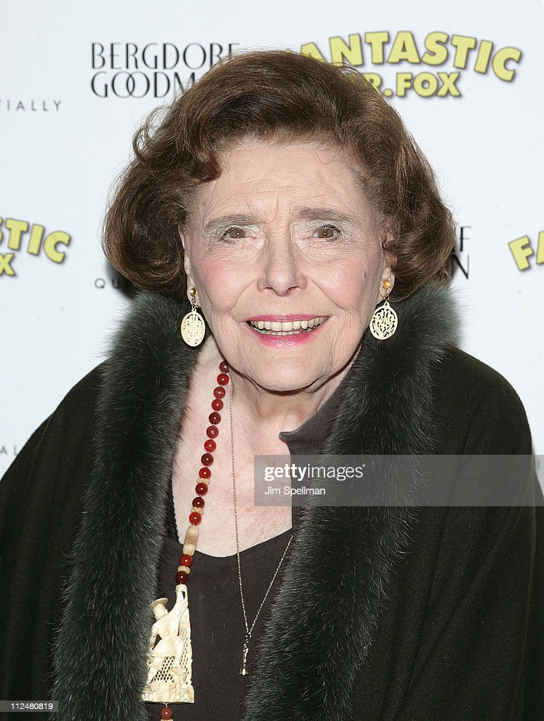 Actress Patricia Neal attends the 'Fantastic Mr. Fox' premiere at Bergdorf Goodman on November 10, 2009 in New York City.