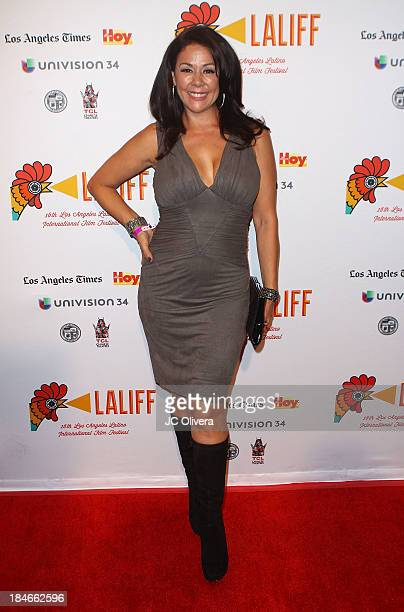 Actress Patricia Rae attends The 2013 Los Angeles Latino International Film Festival Closing Night Premiere of Nosotros Los Nobles at The Orpheum...