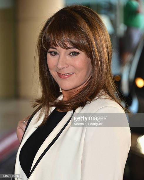 Actress Patricia Richardson attends Hallmark Channel and Hallmark Movie Channel's 2012 TCA Summer Press Tour on August 2 2012 in Beverly Hills...