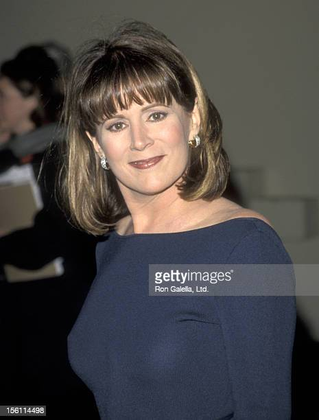 Actress Patricia Richardson attends the Wrap Party for the Final Episode of 'Home Improvement' on April 9 1999 at Walt Disney Studios in Burbank...