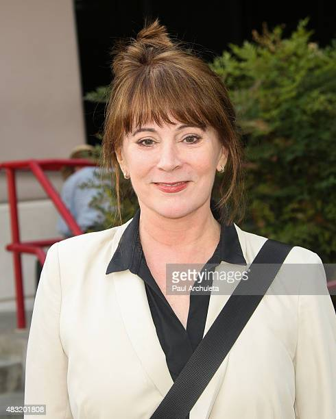 Actress Patricia Richardson visits Central Casting in her bid for President of SagAftra on August 6 2015 in Burbank California