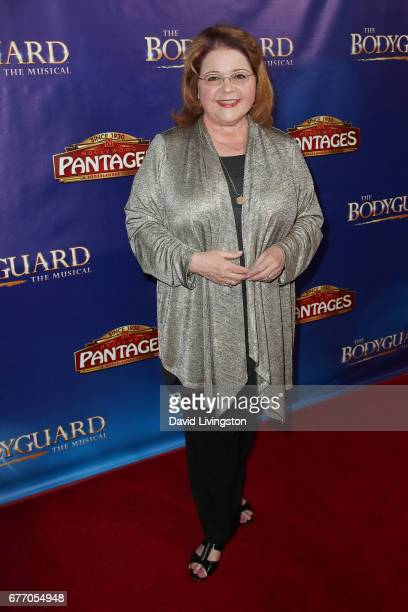 Actress Patrika Darbo arrives at the premiere of 'The Bodyguard' at the Pantages Theatre on May 2 2017 in Hollywood California