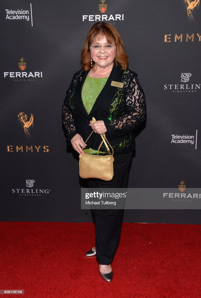 Actress Patrika Darbo attends the Television Academy's cocktail reception with stars of daytime television celebrating the 69th Emmy Awards at Saban Media Center on August 23, 2017 in North Hollywood, California.