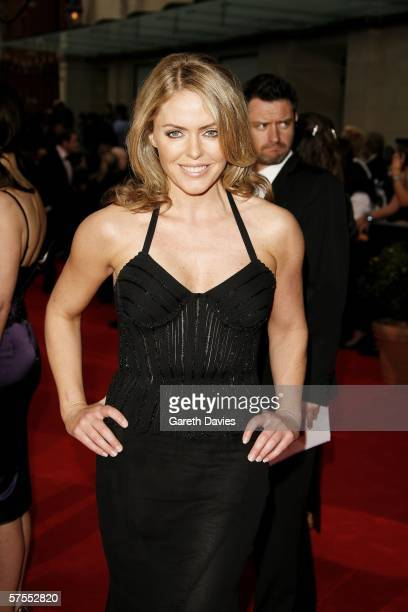 Actress Patsy Kensit arrives at the Pioneer British Academy Television Awards 2006 at the Grosvenor House Hotel on May 7, 2006 in London, England.