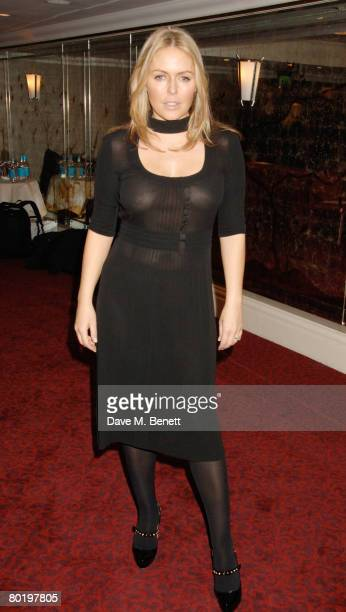 Actress Patsy Kensit arrives at the Television And Radio Industries Club Ceremony 2008 at Grosvenor House Hotel on March 11 2008 in London England