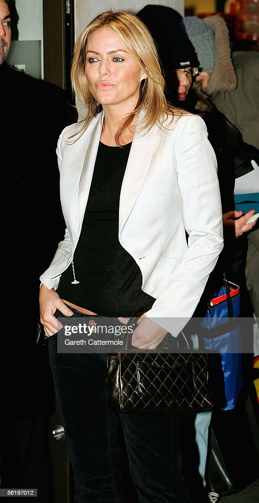 Actress Patsy Kensit arrives at the UK Premiere of 'Stoned' at the Apollo West End Cinema on November 17, 2005 in London, England. The British film chronicles the life and death of Rolling Stones co-founder Brian Jones, found drowned just weeks after being released from the band.