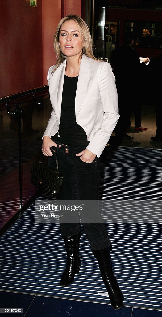 Actress Patsy Kensit arrives at the UK Premiere of 'Stoned' at the Apollo West End Cinema on November 17, 2005 in London, England. The British film chronicles the life and death of Rolling Stones co-founder Brian Jones, found drowned just weeks after being let go from the band.