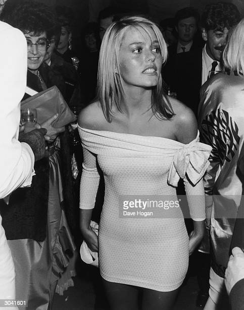 Actress Patsy Kensit at the premiere of the film 'Absolute Beginners' 8th April 1986