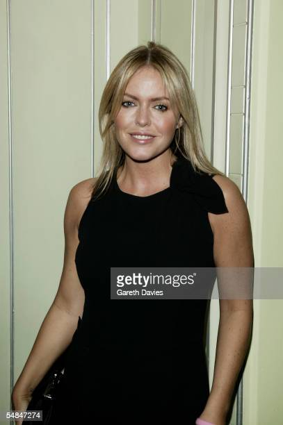 Actress Patsy Kensit attends the TV Quick and TV Choice Awards at the Dorchester Hotel Park Lane on September 5 2005 in London England