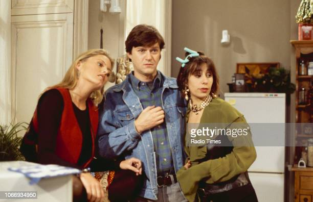 Actress Patsy Kensit in a scene from the BBC comedy pilot 'Blisters', October 10th 1993.