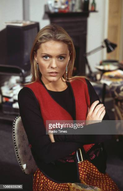 Actress Patsy Kensit in a scene from the BBC comedy pilot 'Blisters' October 10th 1993