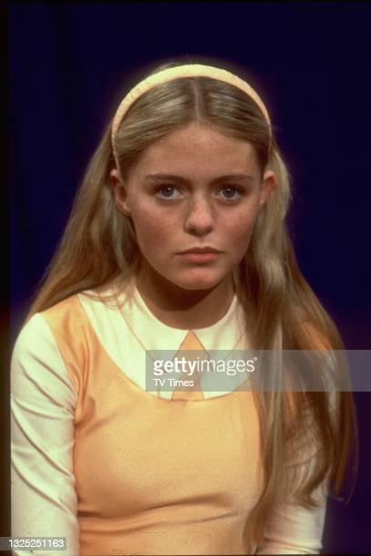 Actress Patsy Kensit in character as Luna in science fiction comedy series Luna, circa 1983.