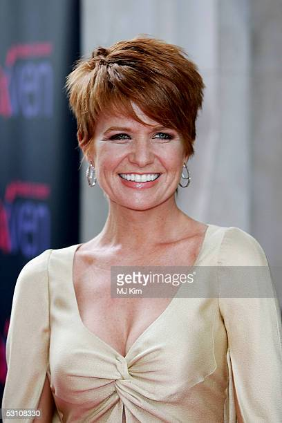 Actress Patsy Palmer arrives at the In The Pink charity party in aid of Breast Cancer Haven at Cadogan Hall on June 20 2005 in London England