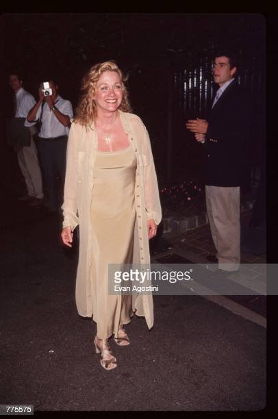 Actress Patti D''Arbanville attends Boathouse Rock 4 in Central Park June 19 1995 in New York City The American Foundation for AIDS Research is the...