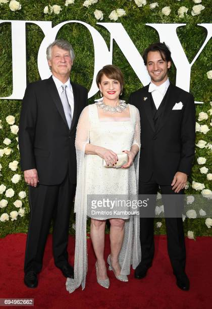 Actress Patti Lupone attends the 2017 Tony Awards at Radio City Music Hall on June 11 2017 in New York City